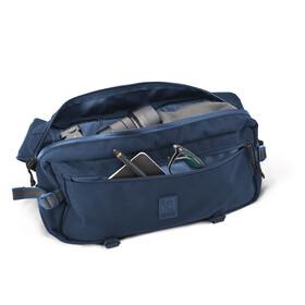 Chrome Kadet Nylon Messenger Bag, navy blue tonal